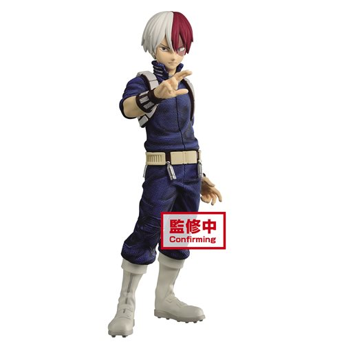 My Hero Academia Shoto Todoroki Standing Statue - OCTOBER 2020