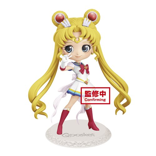 Sailor Moon Eternal The Movie Super Sailor Moon Q Posket - OCTOBER 2020