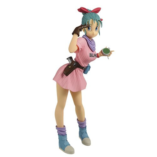 Dragon Ball Bulma III Pink Version Glitter & Glamours Statue - OCTOBER 2020