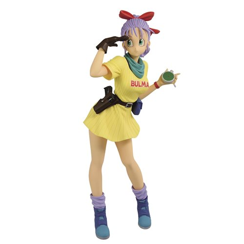 Dragon Ball Bulma III Yellow Version Glitter & Glamours Statue - OCTOBER 2020