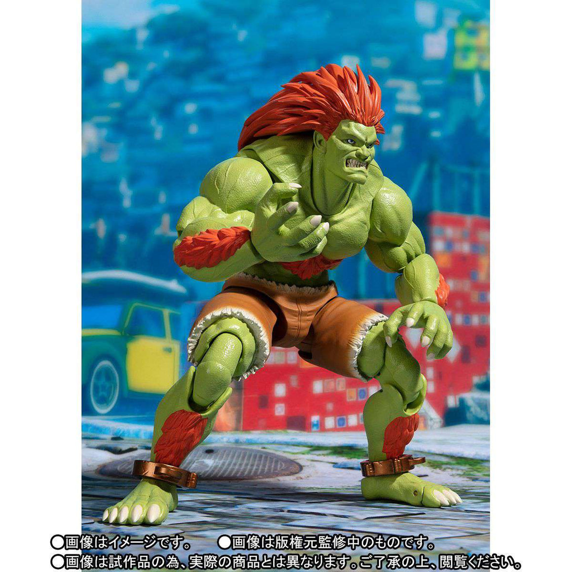 SH Figuarts Street Fighter Blanka