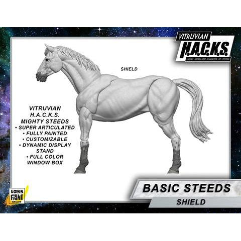 Vitruvian H.A.C.K.S. Mighty Steeds - Shield