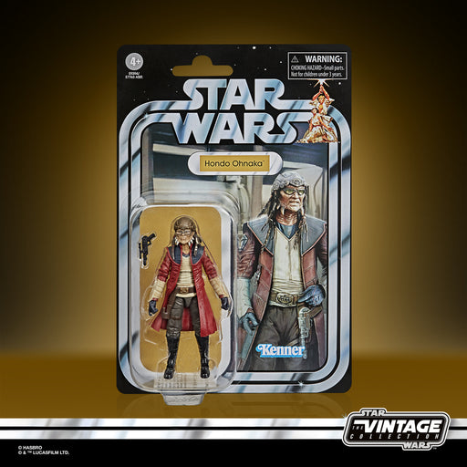 Star Wars The Vintage Collection Hondo Ohnaka 3 3/4-Inch Action Figure - SEPTEMBER 2020