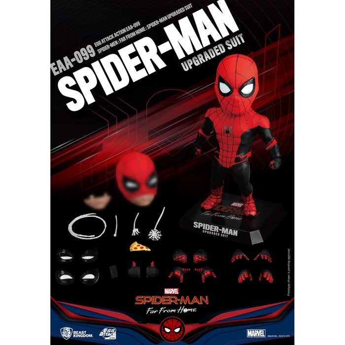 Spider-Man: Far From Home Egg Attack Action EAA-099 Spider-Man (Upgraded Suit) PX Previews Exclusive - MARCH 2020