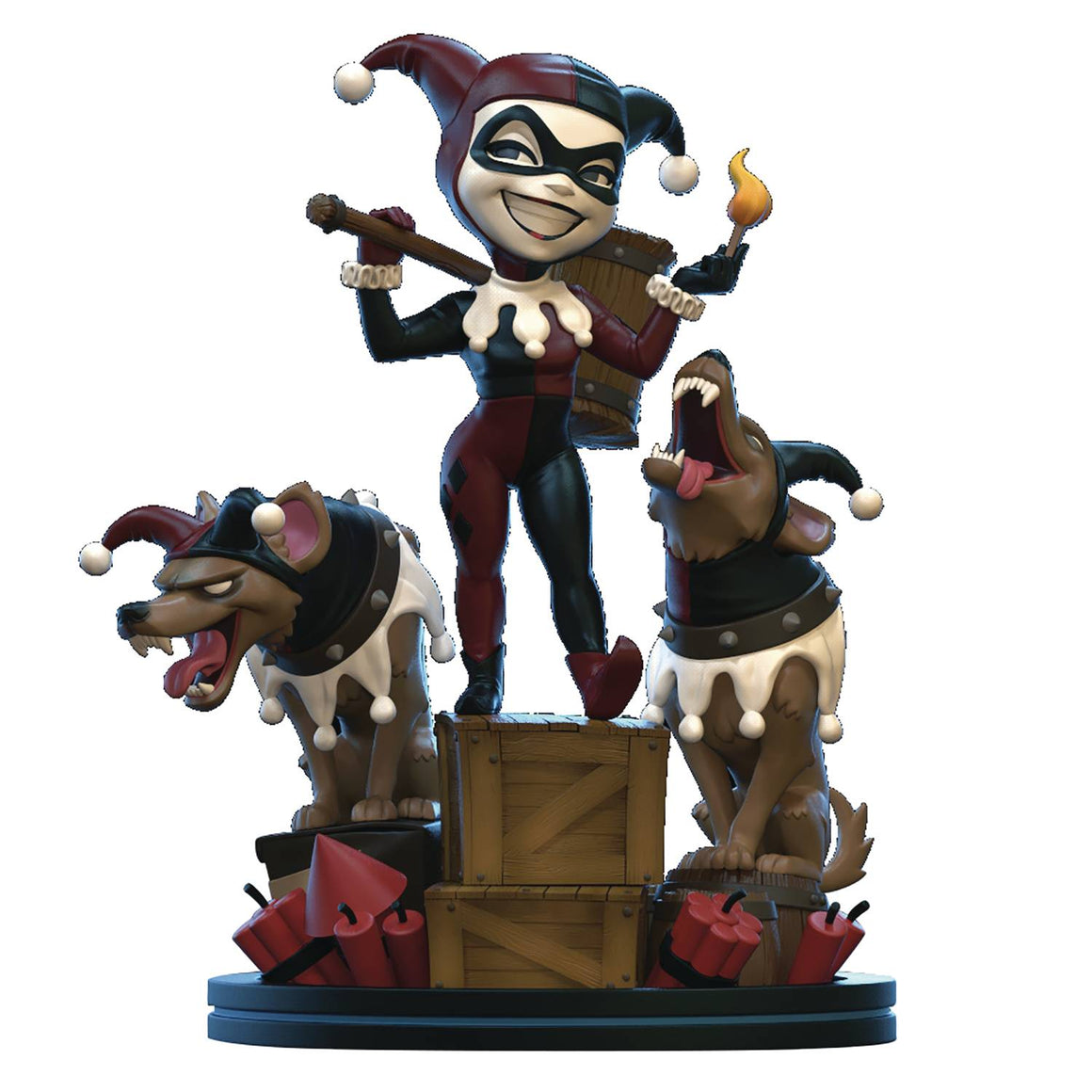 Batman: The Animated Series Q-Fig Remastered Harley Quinn - MARCH 2020