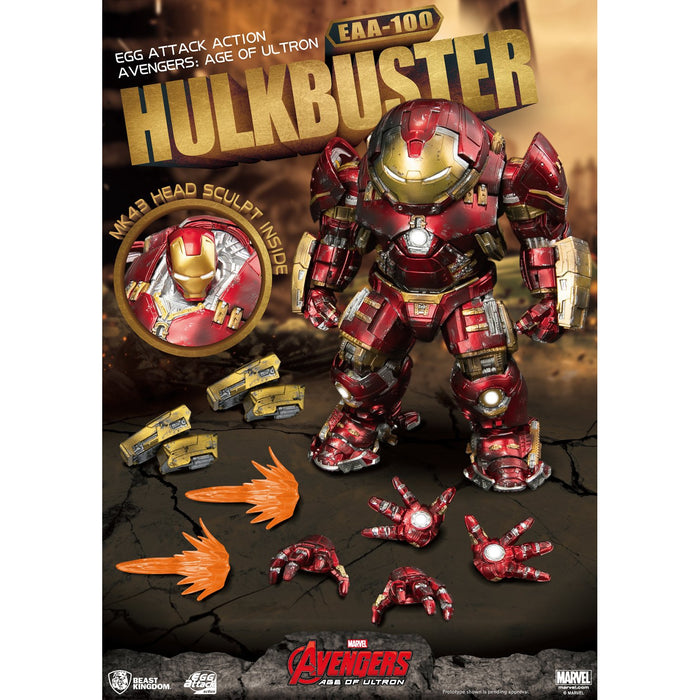 Avengers: Age of Ultron Egg Attack Action EAA-100 Hulkbuster PX Previews Exclusive - AUGUST 2020