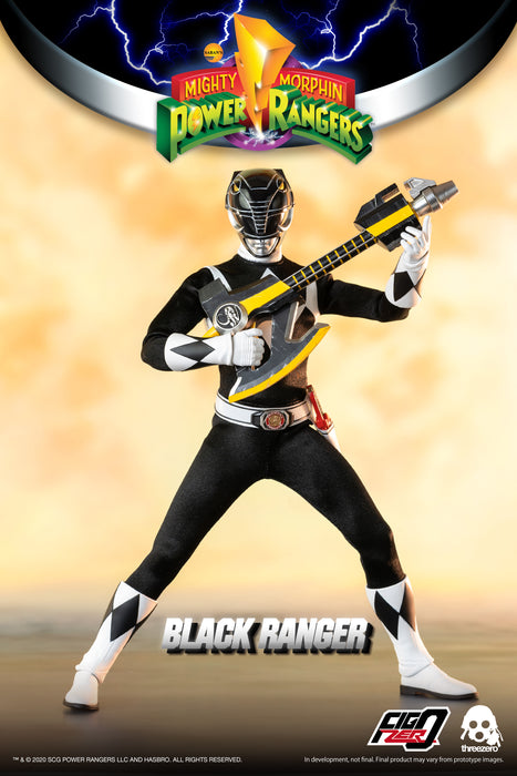 Mighty Morphin Power Rangers Black Ranger 1/6 Scale - SEPTEMBER 2021