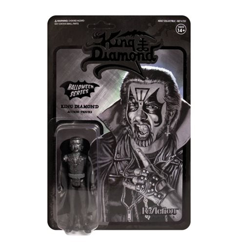King Diamond Black 3 3/4-Inch ReAction Figure - APRIL 2020