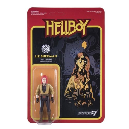 Hellboy Liz Sherman 3 3/4-Inch ReAction Figure - APRIL 2020