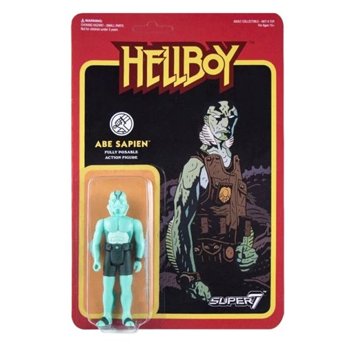 Hellboy Abe Sapien 3 3/4-Inch ReAction Figure -APRIL 2020