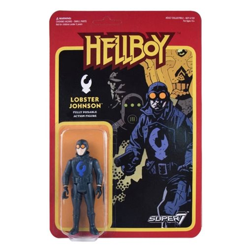 Hellboy Lobster Johnson 3 3/4-Inch ReAction Figure - APRIL 2020