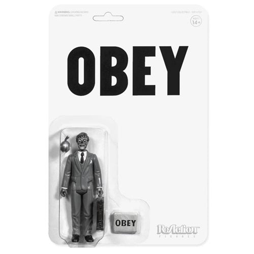 They Live Male Ghoul Black and White 3 3/4-Inch ReAction Figure - APRIL 2020