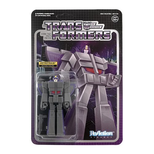 Transformers Astrotrain 3 3/4-Inch ReAction Figure - MAY 2020