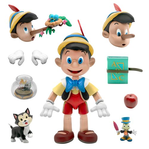 Disney Ultimates Pinocchio Action Figure - SEPTEMBER 2021