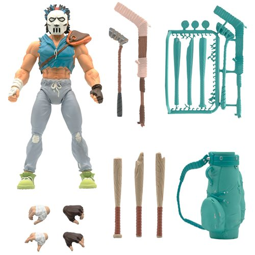 Teenage Mutant Ninja Turtles Ultimates Casey Jones 7-Inch Action Figure - DECEMBER 2021
