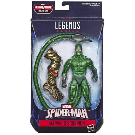 Amazing Spider-Man Marvel Legends Wave 12 - Scorpion - MAY 2019