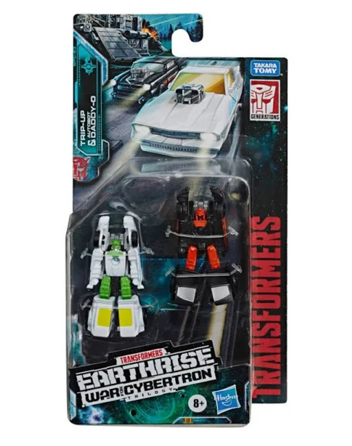 Transformers Earthrise Micromasters Trip-up and Daddy-O