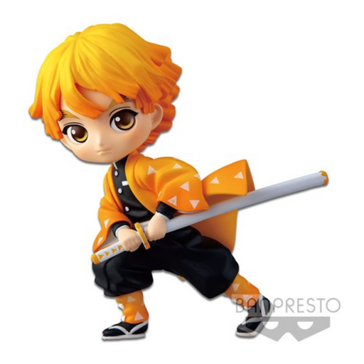 Demon Slayer Zenitsu Agatsuma Vol. 1 Petit Q Posket Statue - JUNE 2020
