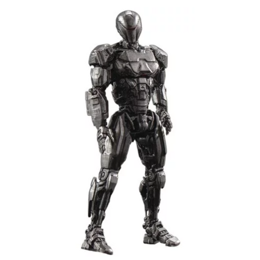 RoboCop 2014 OmniCorp EM-208 Enforcement Droid 1:18 Scale Action Figure 2-Pack - Previews Exclusive - JANUARY 2021