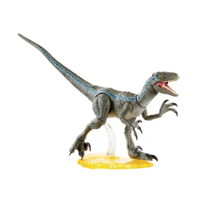 Jurassic World Amber Collection Velociraptor Blue Action Figure