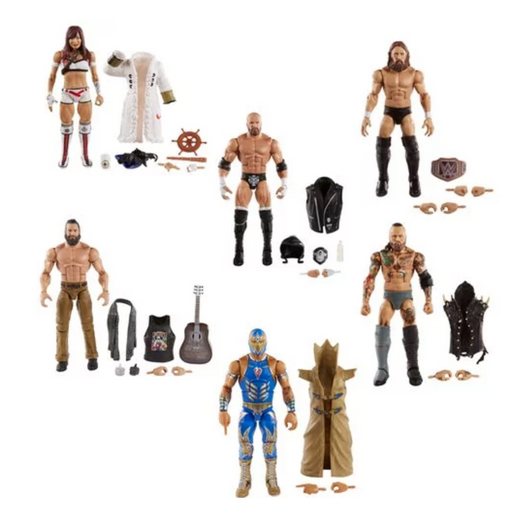 WWE Elite Collection Series 73 - Set of 6