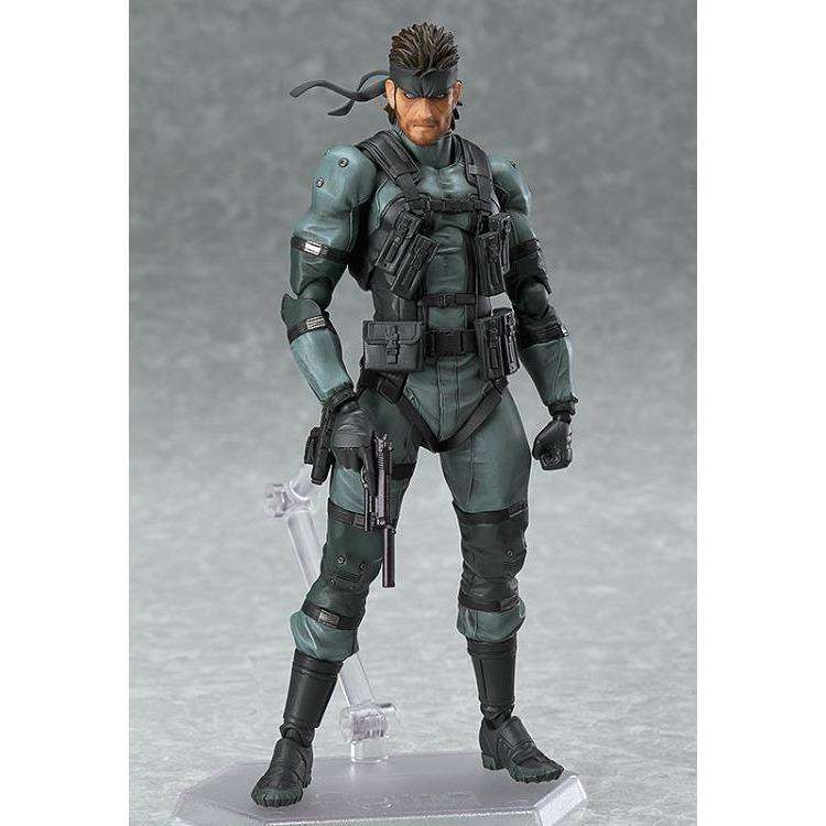 Metal Gear Solid Figma No.243 - Solid Snake - December 2018