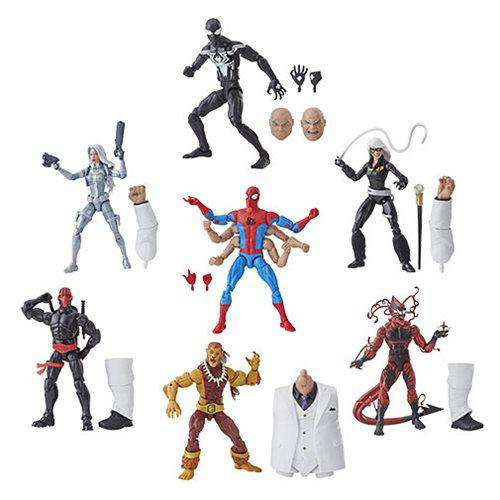 Amazing Spider-Man Marvel Legends Wave 11 (Kingpin BAF) - Case of 8 - JANUARY 2019