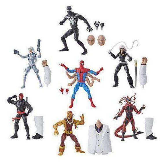 Amazing Spider-Man Marvel Legends Wave 11 (Kingpin BAF) - Set of 7 - JANUARY 2019