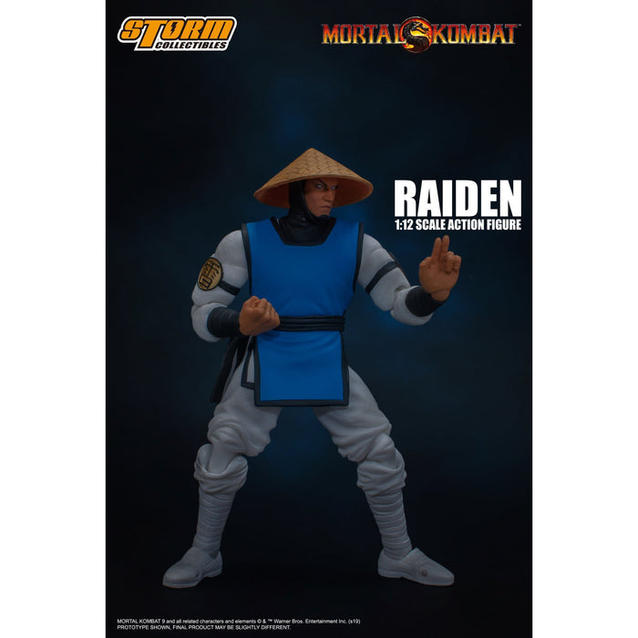 Mortal Kombat - Raiden 1/12 Scale Action Figure - APRIL 2020