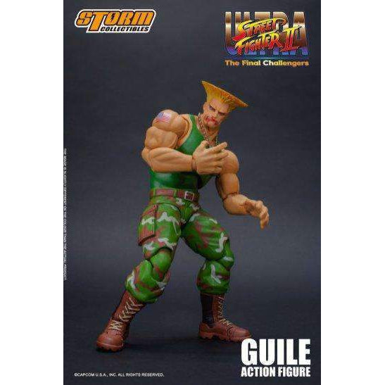 Street Fighter II Guile 1/12 Scale Figure - AUGUST 2019