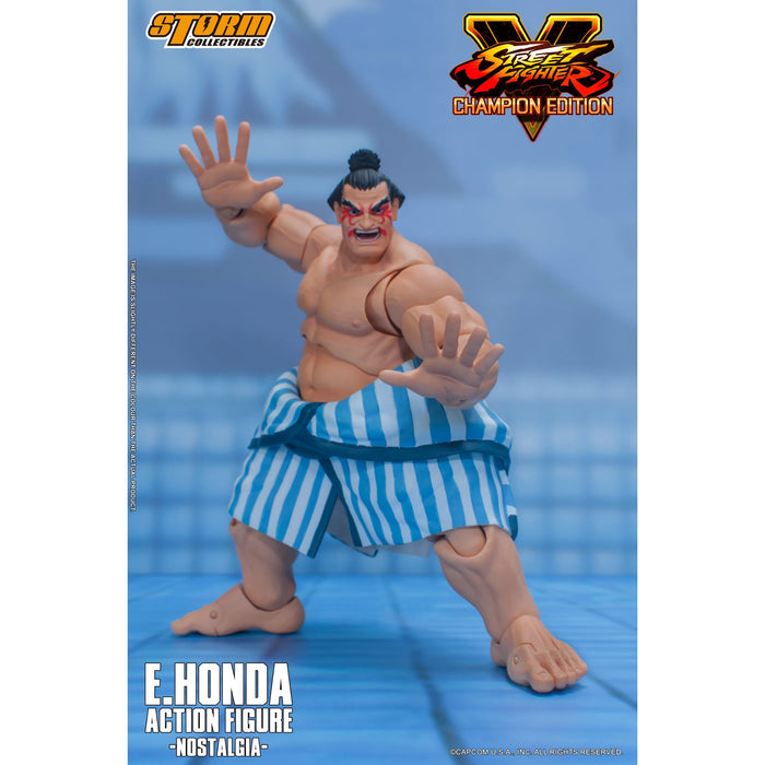 Street Fighter V – E. Honda 1/12 Scale Figure - JANUARY 2021