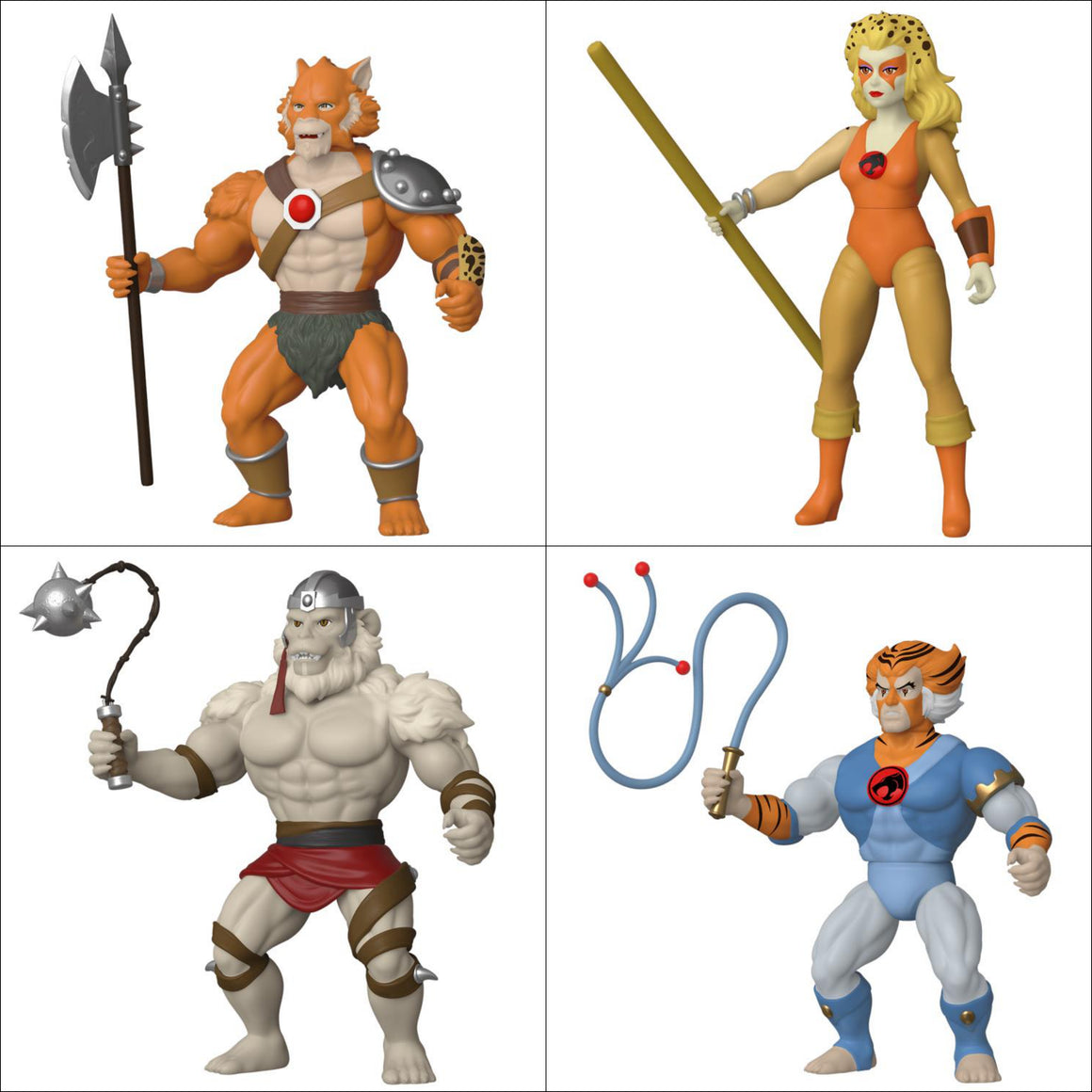 Thundercats Savage World Series 2 Set of 4 - Q4 2019