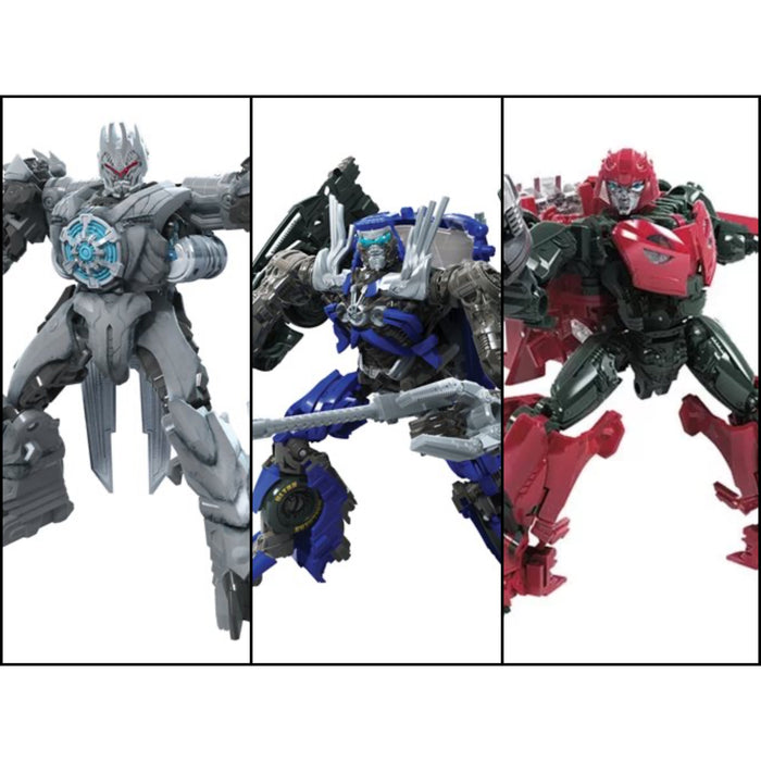 Transformers Studio Series Premier Deluxe Wave 10  - Set of 3