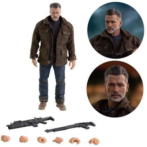 Terminator: Dark Fate T-800 1:12 Scale Action Figure - Q1 2021