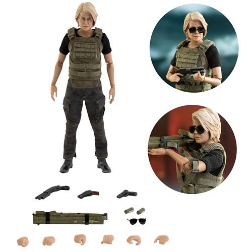 Terminator: Dark Fate Sarah Connor 1:12 Scale Action Figure - OCTOBER 2020