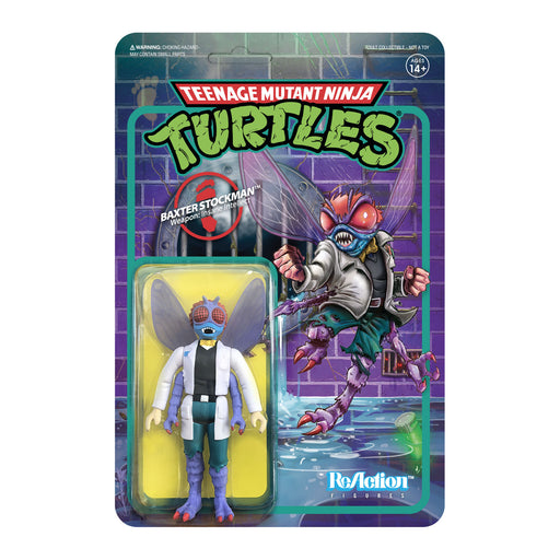 "TMNT Reaction 3.75"" Figures - Baxter Stockman - JULY 2020"