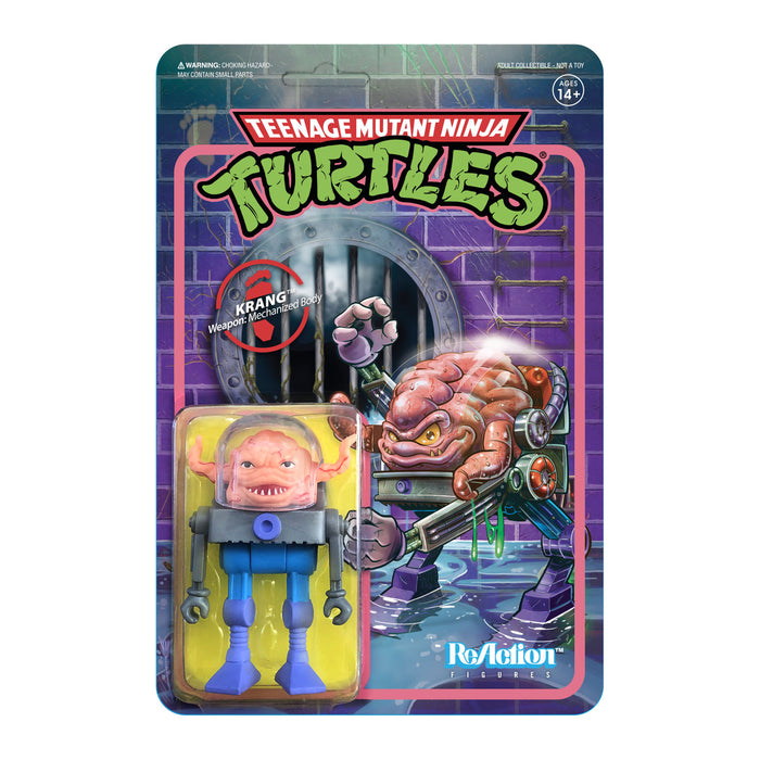 "TMNT Reaction 3.75"" Figures - Krang - JULY 2020"