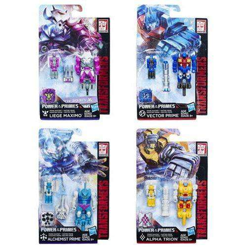 Transformers Generations Prime Masters Wave 2 - Complete Set of Four - AUGUST 2018