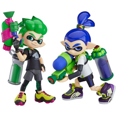 Splatoon Boy DX Edition Figma Action Figure - JULY 2020