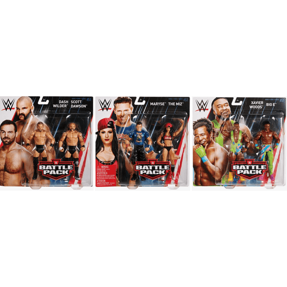 WWE Battle Pack Series 51 - Complete Set of 3