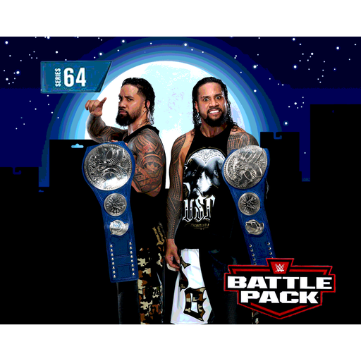 WWE Battle Packs Series 64 - Jey and Jimmy Uso Brothers 2-Pack - MARCH 2020