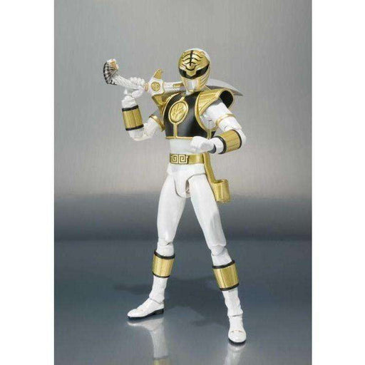 Mighty Morphin Power Rangers S.H.Figuarts - White Ranger (Removable Helmet)(DAMAGED BOX)