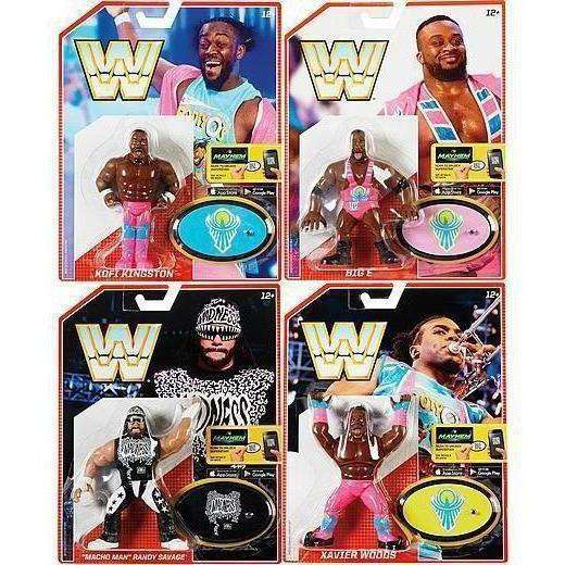 WWE Retro Figures Series 5 - Complete Set of 4 - AUGUST 2018