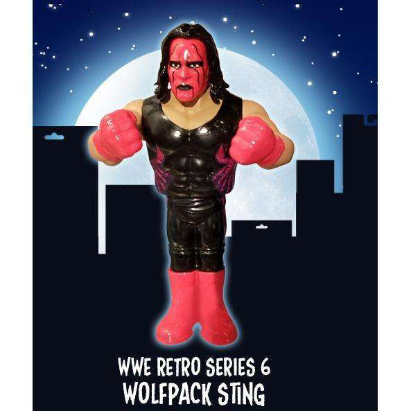 WWE Retro Series 6 - Sting (Wolfpac Red & Black) - SEPTEMBER 2018