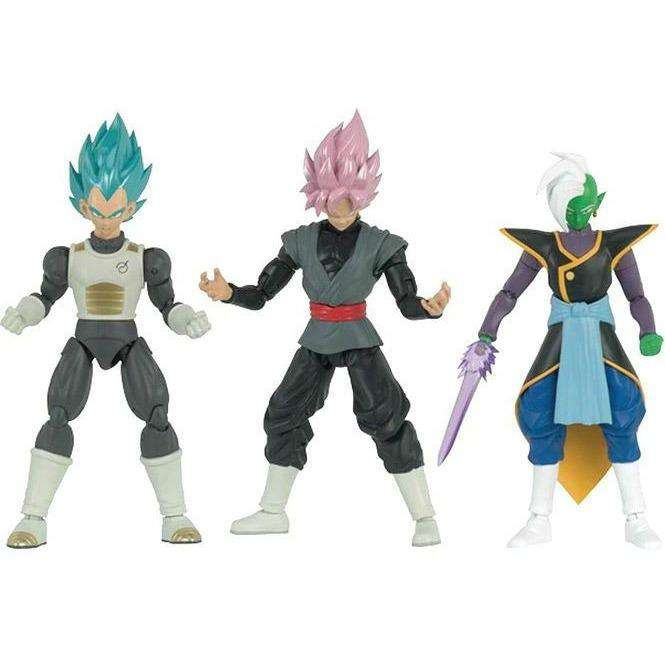 Dragon Ball Super - Dragon Stars Figure Wave D (Set of 3 w/ Fusion Zamasu Parts)