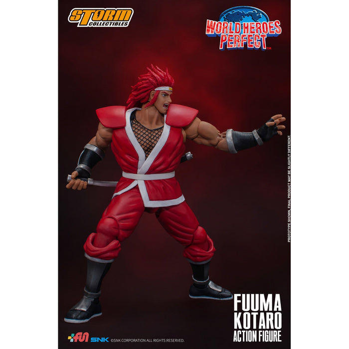 World Heroes Perfect Fuuma Kotaro 1/12 Scale Figure - Q3 2020