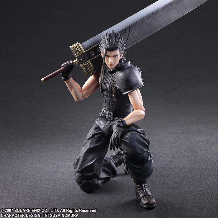 Chrisis Core:  Final Fantasy VII Play Arts Kai - Zack Fair  - APRIL 2018