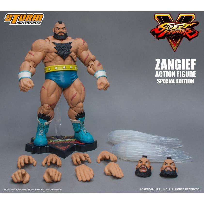 Street Fighter V - Zangief (Special Edition) 1/12 Scale Figure
