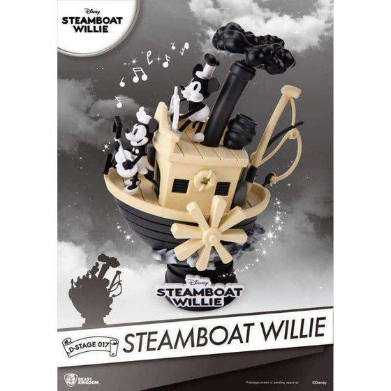 Disney D-Select DS-017 Steamboat Willie PX Previews Exclusive Statue - MAY 2019