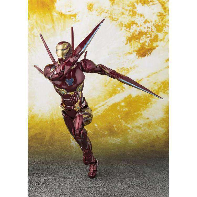 Avengers: Infinity War S.H.Figuarts Iron Man Mark L With Nano-Weapon Set